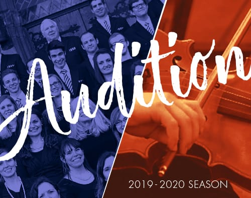 Audition for the MN Saints Chorale & Orchestra